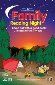 Family Reading Night 2015