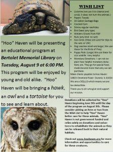 Hoo Haven 8.9.16